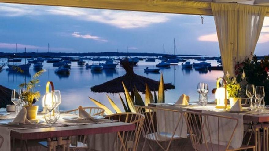 Quimera, uno de los mejores restaurantes en Formentera
