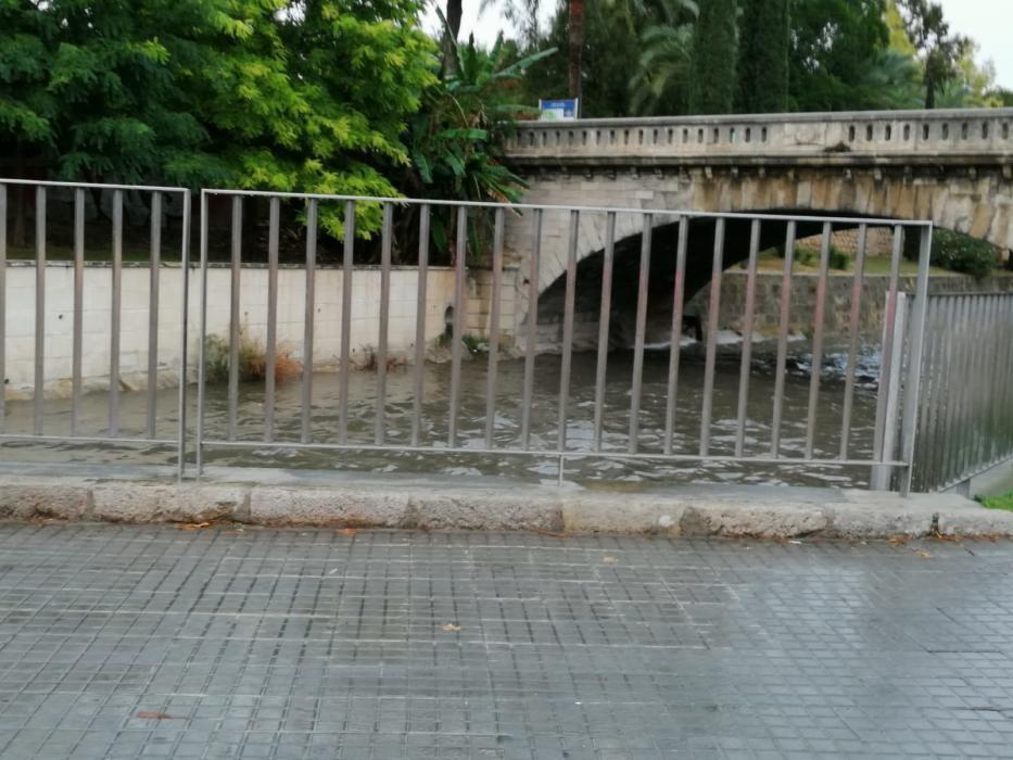 Starkregen und Gewitter auf Mallorca