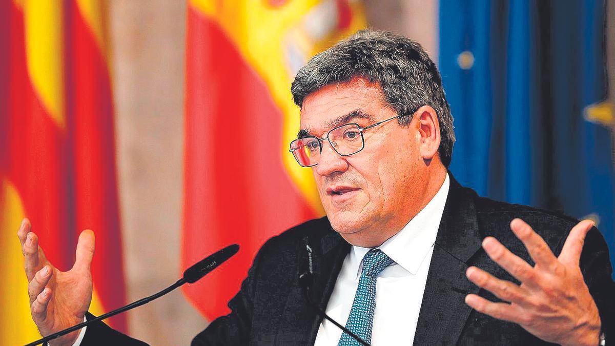 José Luis Escrivá, ministro de Inclusión, Seguridad Social y Migraciones de España.