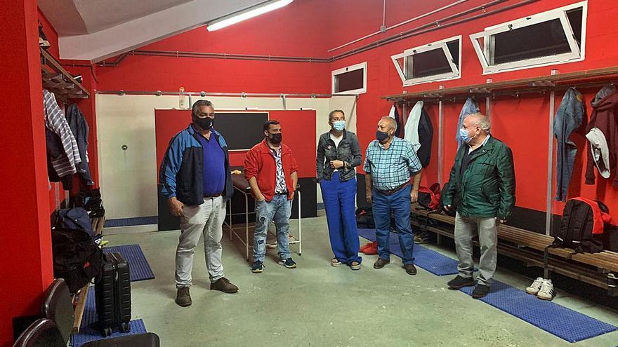 El nuevo alumbrado completará la obra de remozado del campo de Laro