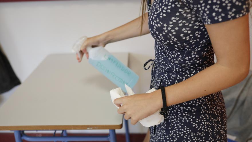 Extremadura cuenta con ocho aulas en el modelo de enseñanza online por el covid, una más que el día anterior