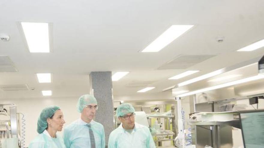 El 'búnker antibacterias' del Hospital de A Coruña