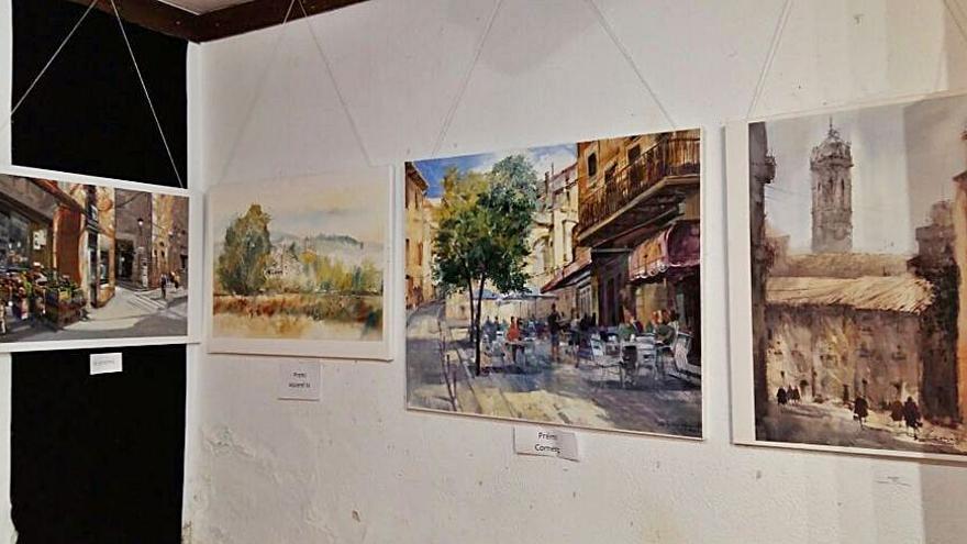 Veredicte del LV Concurs de Pintura Ràpida Al teu aire del Cercle Artístic del Moianès