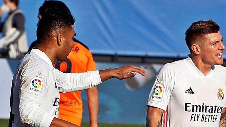 El Valencia CF no le hace ni cosquillas al Madrid