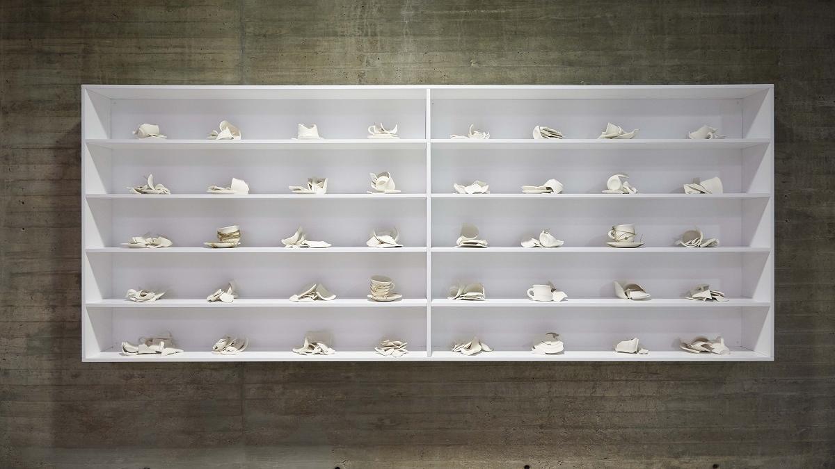 La instalación 'Pieza para reparar, para Córdoba (1966/2021)' de la artista Yoko Ono.