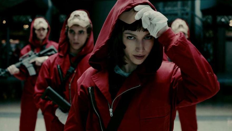 'La Casa de Papel' defiende que las máscaras son un diseño específico de la serie
