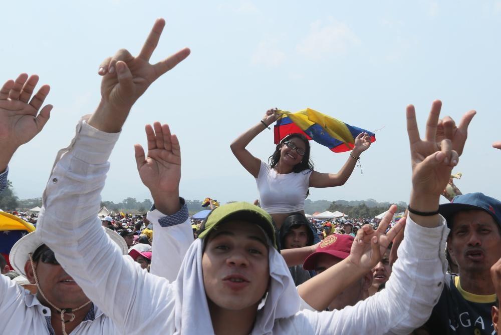 Concierto 'Venezuela Aid Live' en la frontera ...