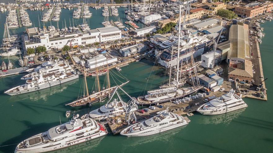 ¿Por qué vienen los grandes yates a Mallorca? Sorpresa, no vienen a hacer turismo