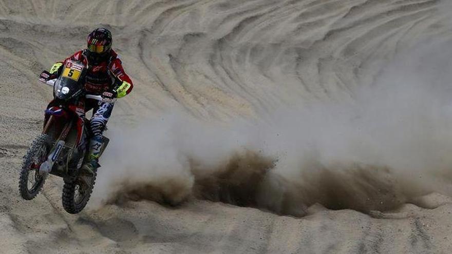 Barreda somete a sus rivales y es el primer líder del Dakar