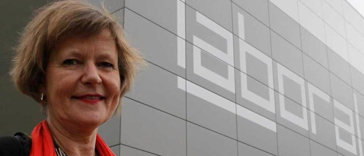 Karin Ohlenschläger, directora artística de Laboral Centro de Arte, en una imagen de archivo.