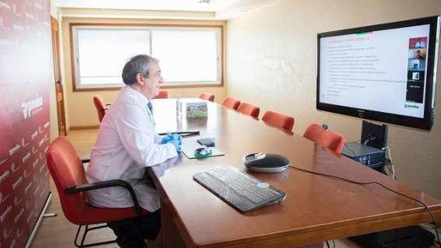 Povisa asesora en Covid-19 a 500 altos ejecutivos iberoamericanos