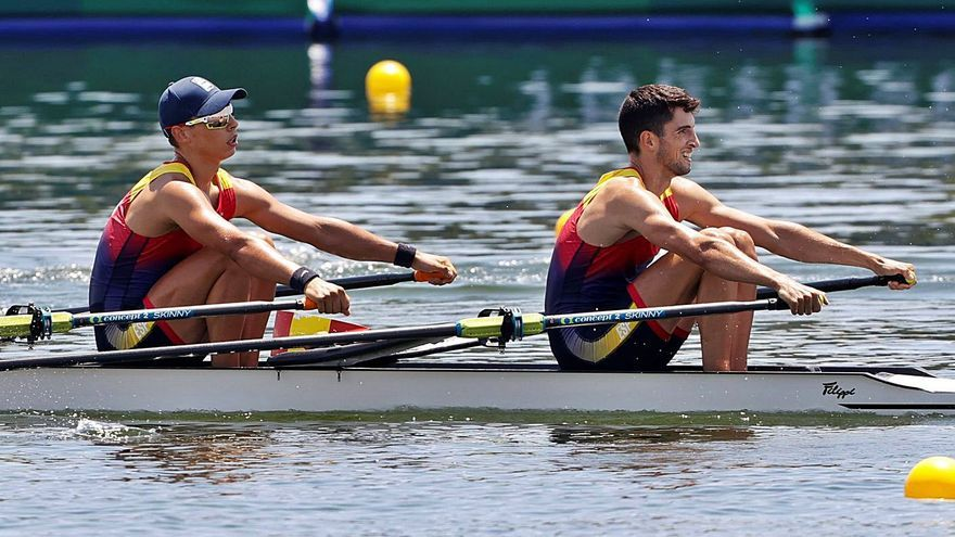 Horta y Balastegui se clasifican para semifinales en doble scull ligero