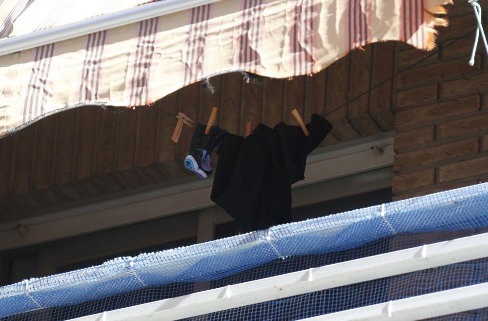 El asesino de su hija en Alzira vuelve al lugar del crimen