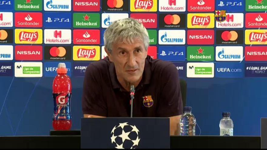"""Setién: """"No se me ha pasado por la cabeza que vaya a ser mi último partido en el Barça"""""""