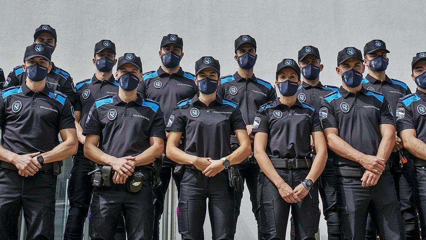 Los 18 futuros policías locales que ya se forman en Ourense