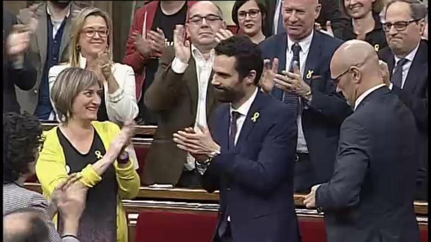 Torrent, nuevo presidente del Parlament catalán