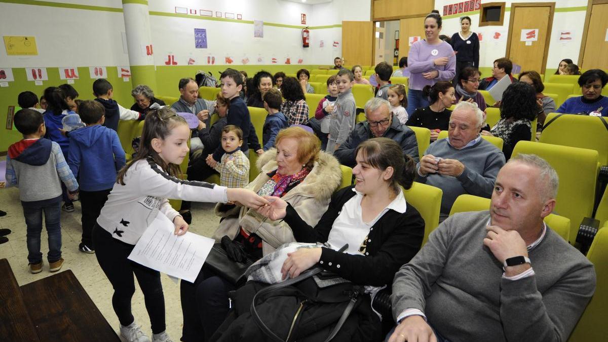 Acto del 25-N, Día contra la Violencia de Género, el año pasado, en Rodeiro.