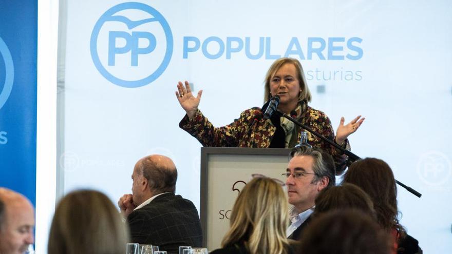 """Mercedes Fernández, """"cansada de los bofetones"""" de Foro para ir en coalición en las autonómicas"""