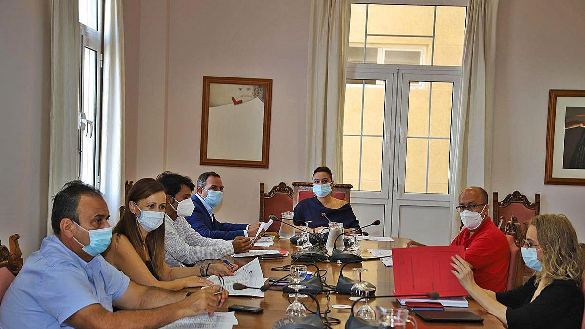 Celebración  del Consejo de Gobierno del Cabildode Lanzarote.