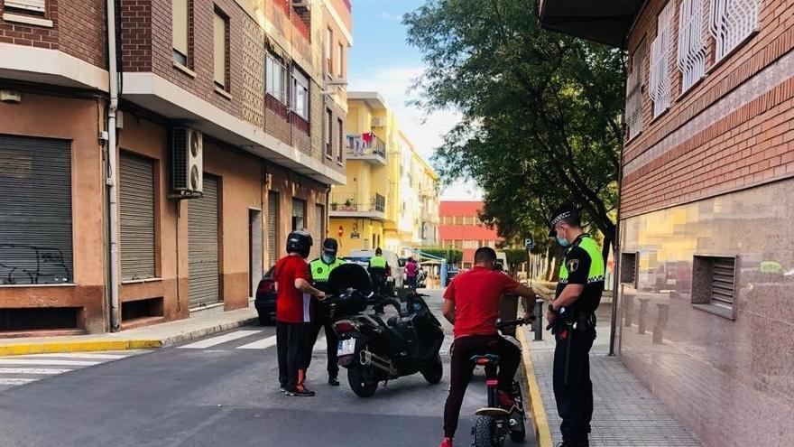 Dos multas diarias en la primera semana del control del ruido en Elda