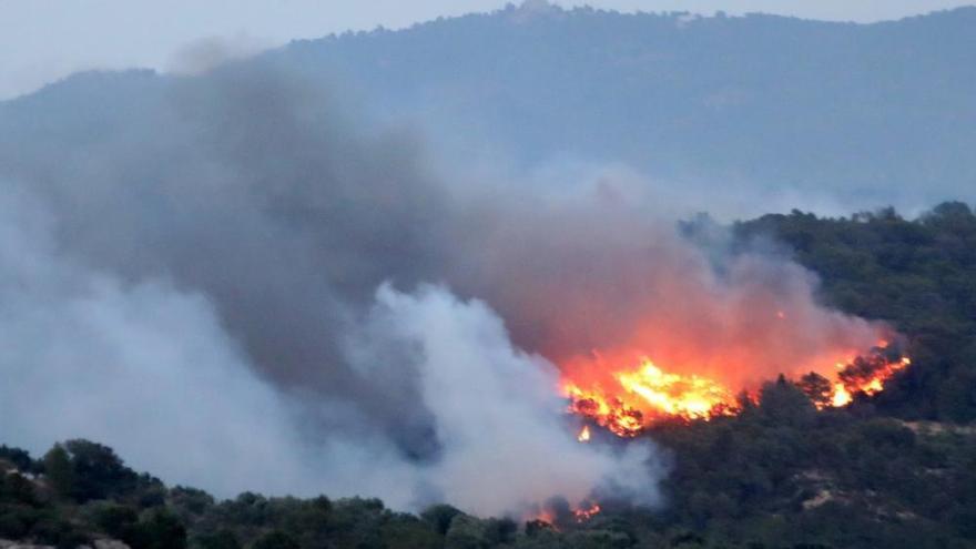 Las imágenes del incendio en Tarragona