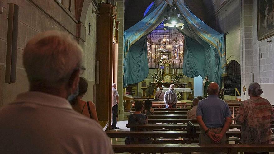 La novena a la Virgen del Tránsito en Zamora celebra su edición más anómala
