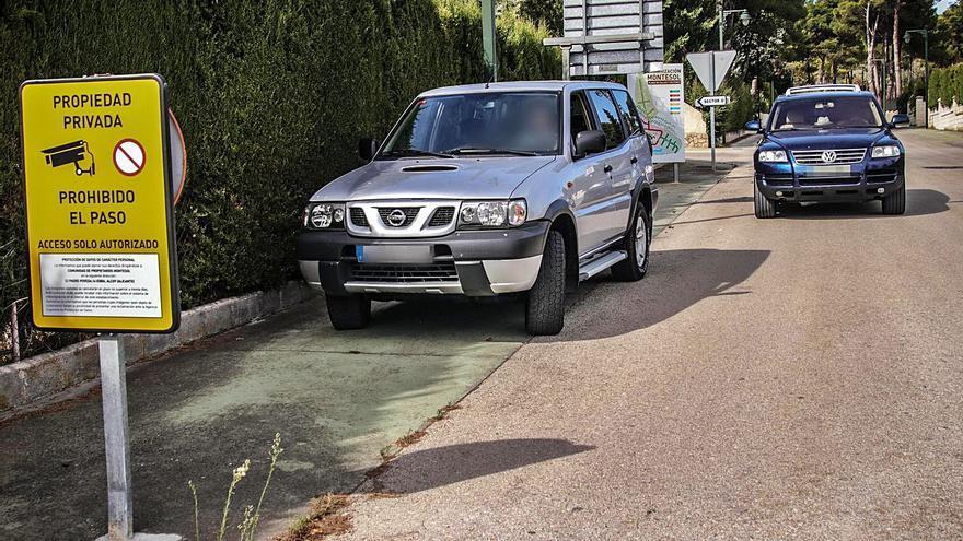 Los vecinos de Montesol en Alcoy exigen seguridad tras una oleada de robos