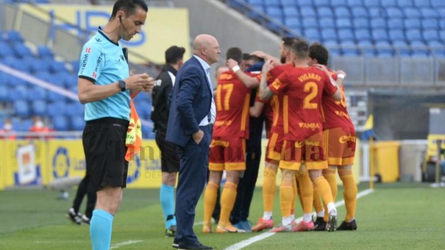 Las Palmas repite sus lamentos ante el Zaragoza