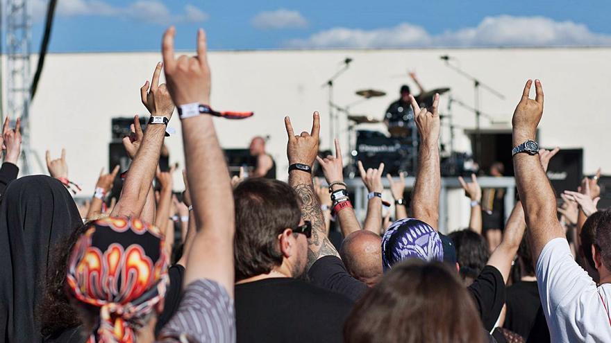 El rock metal regresa a Zamora en versión mini
