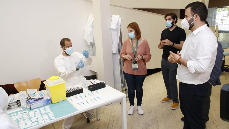 """Salaya: """"Estamos convencidos de que al coronavirus le queda poquito"""""""