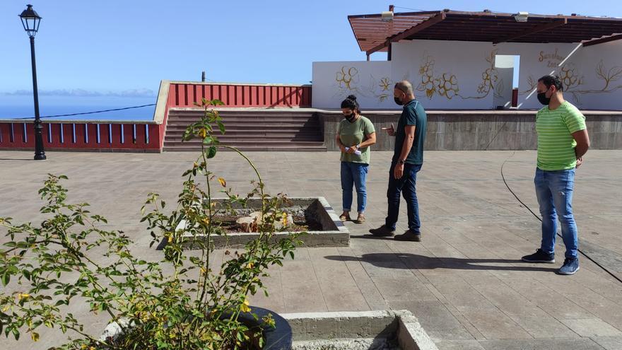 La plaza de San José recupera su arbolado