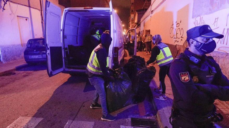 Festnahmen bei Drogenrazzia in Palma de Mallorca