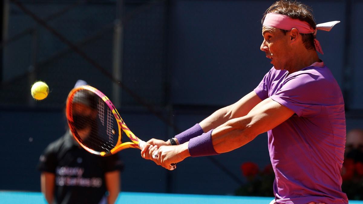 El tenista balear Rafa Nadal.