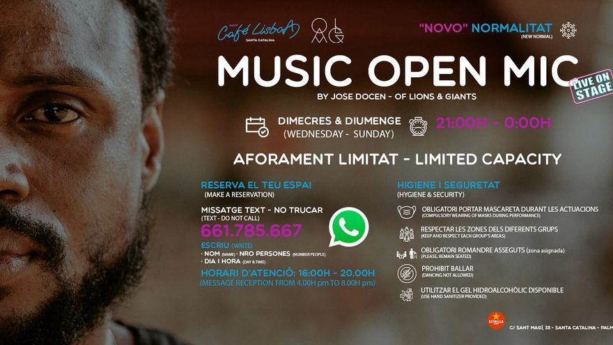 Music Open Mic On Stage by J. Docen (OLAG)