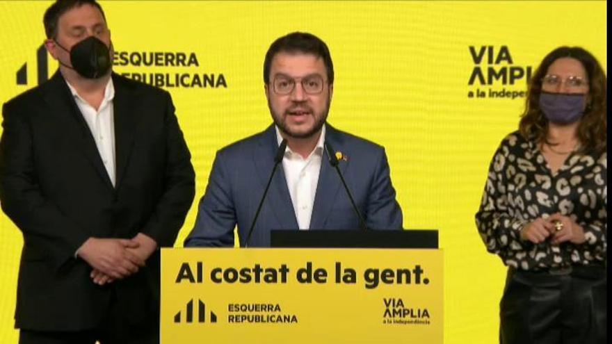 """ERC supera a JxCat y apuesta por """"un gobierno amplio"""""""