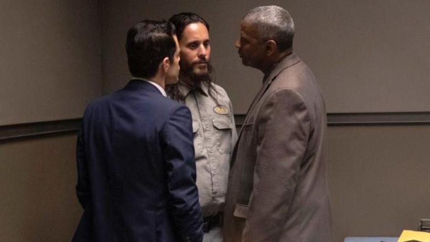 'Pequeños detalles': Jared Leto atormenta a Denzel Washington y Rami Malek