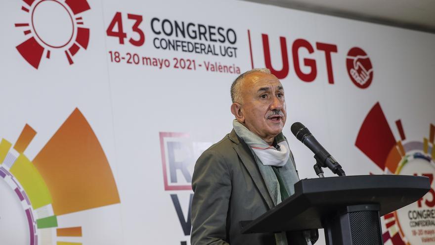 Álvarez, reelegido con holgada mayoría para liderar UGT los próximos 4 años