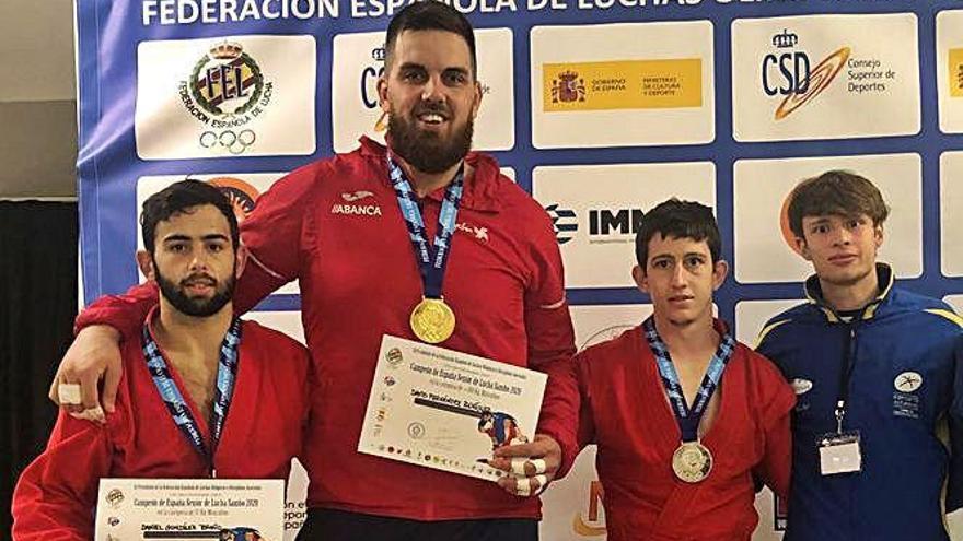 Dos oros y una plata para Asturias en el Nacional