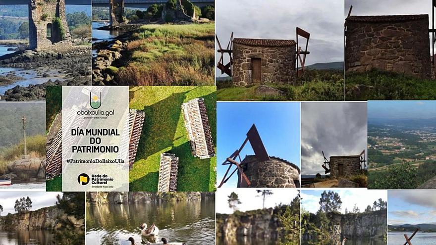 El patrimonio de O Baixo Ulla se sube a la red