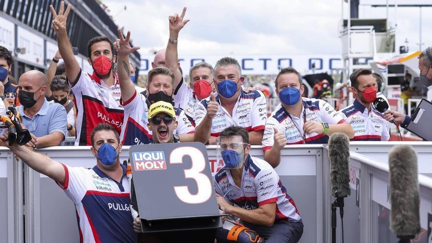 Canet suma un nuevo podio en Misano