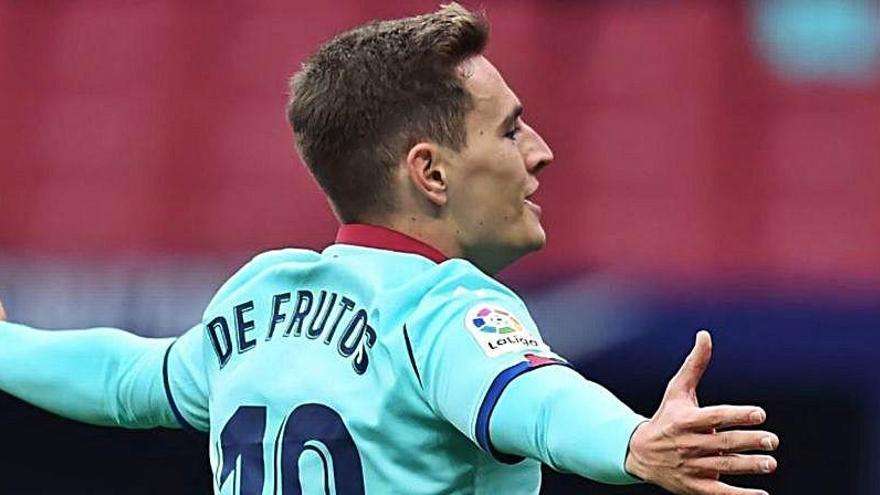 El Real Madrid quiere fichar a De Frutos pase lo que pase con Lucas Vázquez