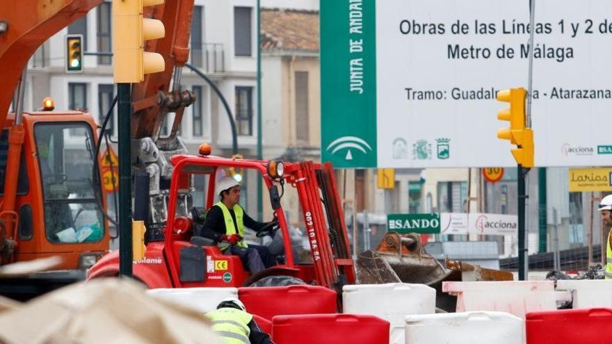 El Supremo rebaja en 1,5 millones tres pagos del Ayuntamiento de Málaga a la Junta por las obras del metro