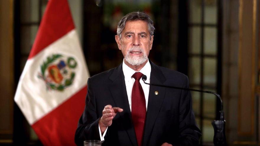 El presidente de Perú no asistirá a la citación del Congreso por el 'Vacunagate'