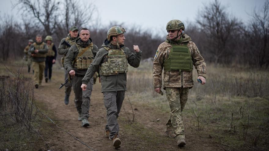 """""""Preocupación"""" entre el G-7 por la """"amenazante"""" presencia de tropas rusas en la frontera con Ucrania"""