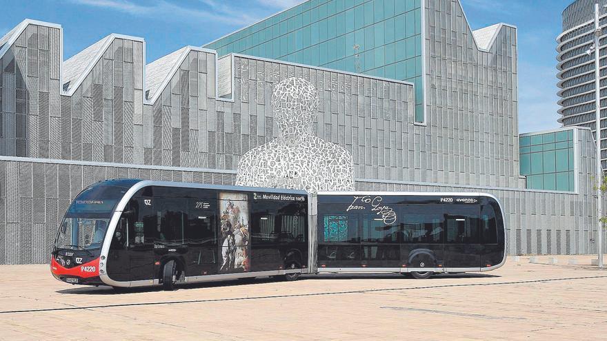 Reformar las cocheras del bus para electrificarlas costará 8 millones