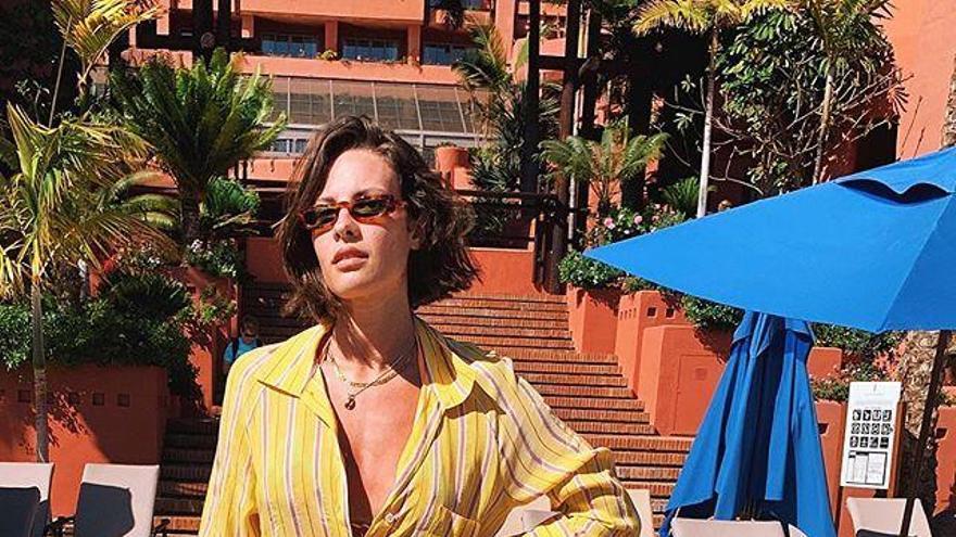 Jessica Bueno disfruta sus vacaciones en Tenerife