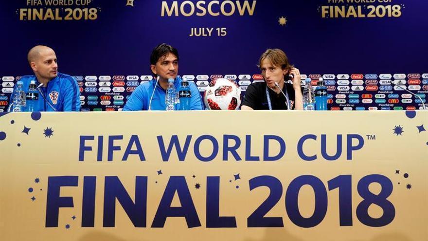 """Modric: """"Tenemos que dejar las emociones a un lado y darlo todo en el campo"""""""