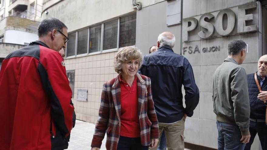 Más de la mitad de los militantes ya votaron en las primarias del PSOE de Gijón, a dos horas del cierre de urnas