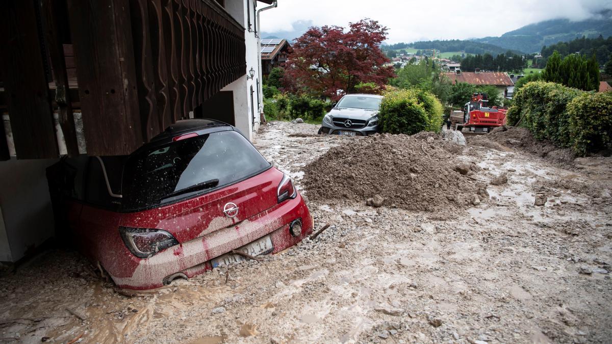Episodi d'inundacions a Alemanya