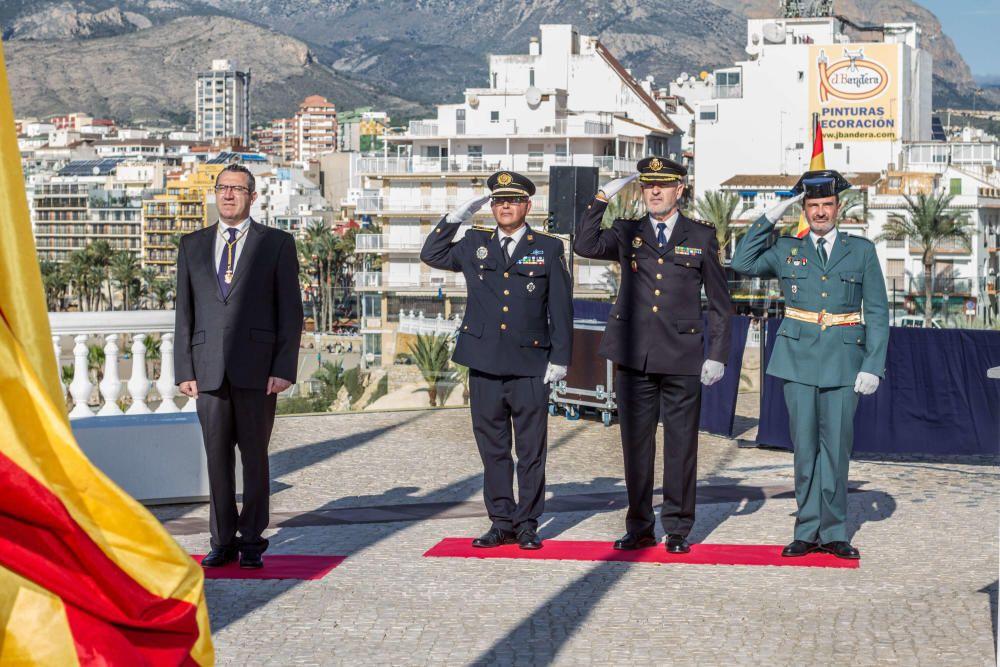 Benidorm celebra el día de la Constitución